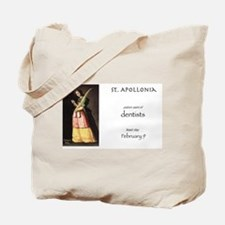st. apollonia, patron saint of dentists Tote Bag