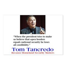 Tancredo for President Postcards (Package of 8)