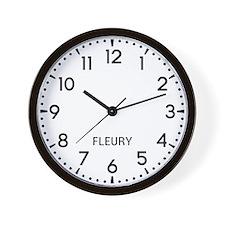 Fleury Newsroom Wall Clock