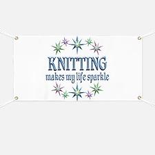 Knitting Sparkles Banner