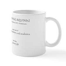 st. thomas aquinas, patron saint for st Small Mug