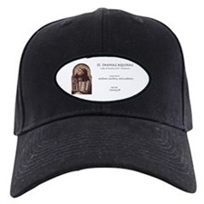 st. thomas aquinas, patron saint for stu Baseball Hat