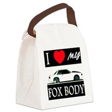 I love my Fox Body Canvas Lunch Bag