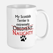 Naughty Scottish Terrier Mugs