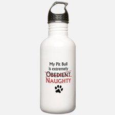 Naughty Pit Bull Water Bottle