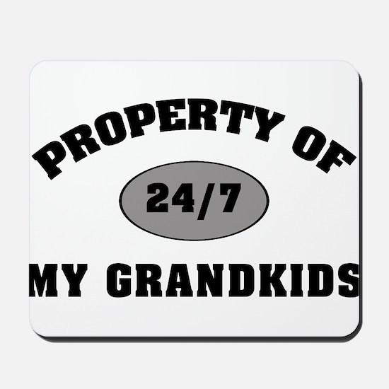 Property Of My Grandkids Mousepad