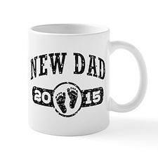 New Dad 2015 Small Mugs