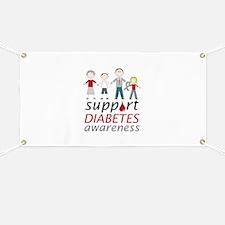 Support Diabetes Awarness Banner