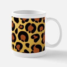 Jaguar Fur Pattern Mugs