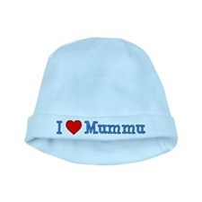 I Love Mummu Baby Hat