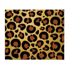 Jaguar Fur Pattern Throw Blanket