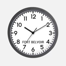Fort Belvoir Newsroom Wall Clock