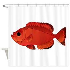 Moontail Bullseye Shower Curtain