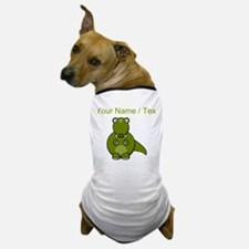 Custom Cartoon T-Rex Dog T-Shirt