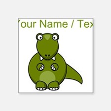 Custom Cartoon T-Rex Sticker
