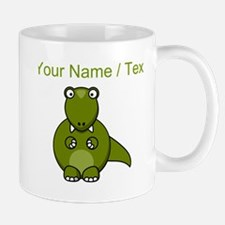 Custom Cartoon T-Rex Mugs