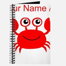 Custom Red Crab Journal