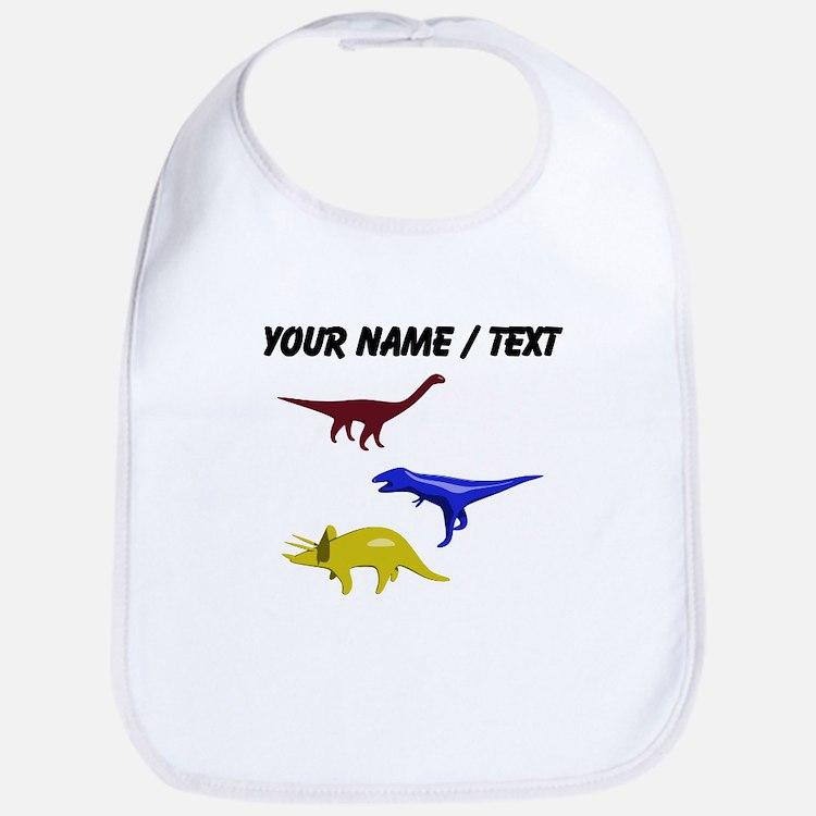 Custom Dinosaurs Bib