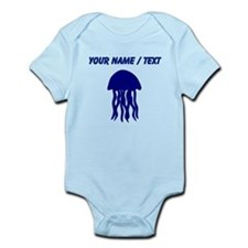 Custom Blue Jellyfish Body Suit