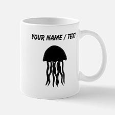 Custom Black Jellyfish Mugs