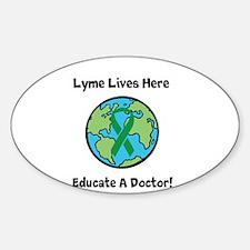 Lyme Disease Awareness Decal
