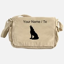 Custom Howling Wolf Messenger Bag