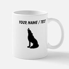 Custom Howling Wolf Mugs