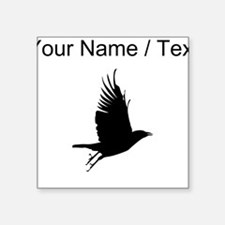 Custom Crow Silhouette Sticker