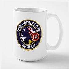 USS Hornet & Apollo 12 Large Mug