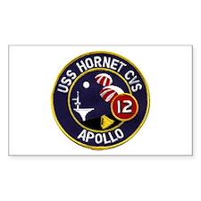 USS Hornet & Apollo 12 Decal