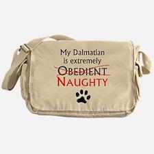 Naughty Dalmatian Messenger Bag
