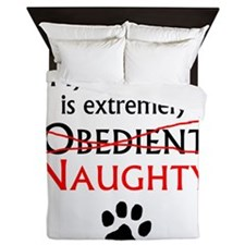 Naughty Dalmatian Queen Duvet