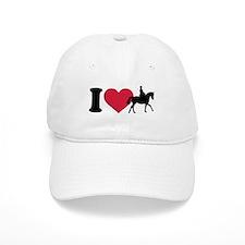I love riding horses Baseball Cap