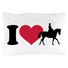 I love riding horses Pillow Case
