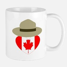 Canadian Campaign Heart Mugs