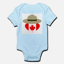 Canadian Campaign Heart Body Suit