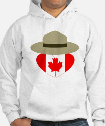 Canadian Campaign Heart Hoodie