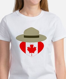 Canadian Campaign Heart T-Shirt