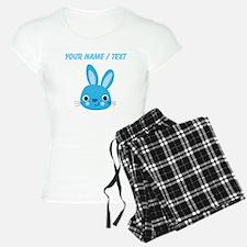 Custom Blue Bunny pajamas