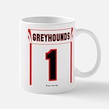 Greyhound Jersey Mugs