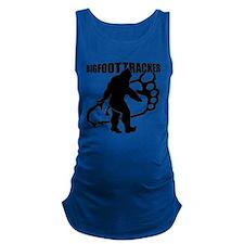 Bigfoot Tracker 3 Maternity Tank Top
