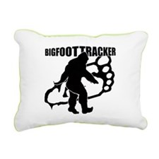 Bigfoot Tracker 3 Rectangular Canvas Pillow