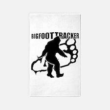 Bigfoot Tracker 3 3'x5' Area Rug