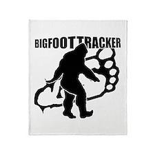 Bigfoot Tracker 3 Throw Blanket