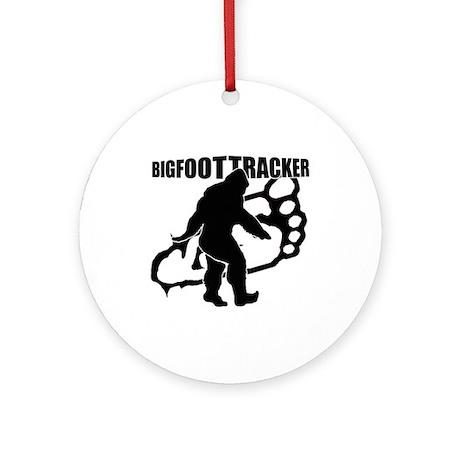 Bigfoot Tracker 3 Ornament (Round)