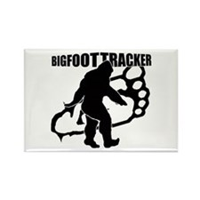 Bigfoot Tracker 3 Rectangle Magnet (100 pack)
