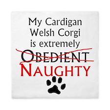 Naughty Cardigan Welsh Corgi Queen Duvet