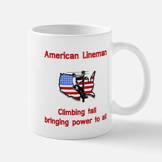 American Lineman Mug