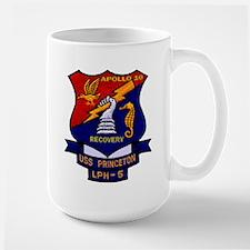 Apollo 10 Recovery USS Princeton Large Mug