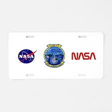 NASA Apollo 9 Aluminum License Plate